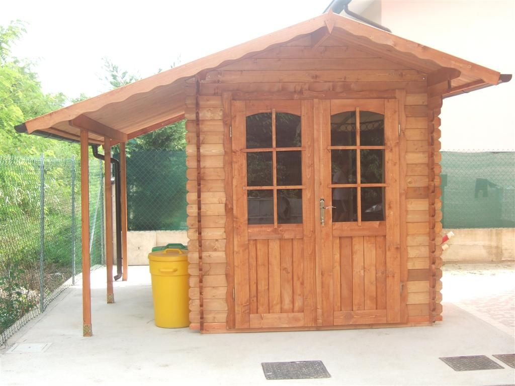 Matrimonio giardino e steccato in legno per giardino - Legno per giardino ...